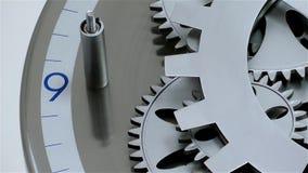 Clock Gears stock video footage