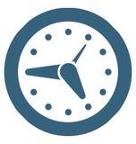 Clock glyph Vector Icon special Signs and symbols vector illustration
