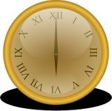 Clock, Golden, Number, Numbers Stock Photo