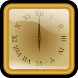 Clock, Golden, Number, Roman Royalty Free Stock Photo