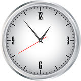 Clock grey Royalty Free Stock Image