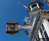 Clock - Guildford High Street Stock Photos