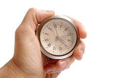 Clock in hand Royalty Free Stock Image