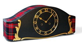 clock handgjort Royaltyfri Foto