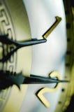 Clock hands Stock Photos