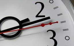 Clock hands Stock Photography