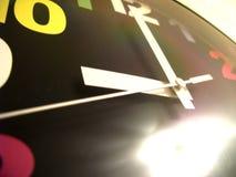 Clock hands stock image