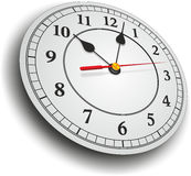 Clock with hands Stock Images