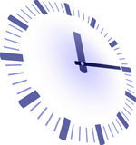Clock with hands Royalty Free Stock Images
