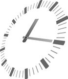 Clock with hands Royalty Free Stock Photos