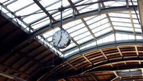 Clock hanging in terminal