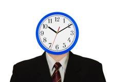 Clock for head Stock Photo