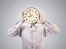 Clock head Stock Images