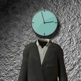 Clock Headed Royalty Free Stock Image