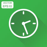 Clock icon. Business concept timer pictogram. Vector illustratio Royalty Free Stock Photography