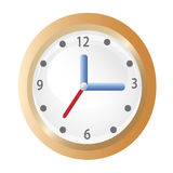 Clock icon Royalty Free Stock Images