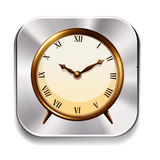 Clock icon Stock Photography