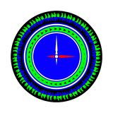 Clock icon. Do not take time back stock illustration