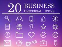 Set of business icons.Vector illustration. vector illustration