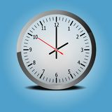 Clock icon Royalty Free Stock Photography