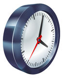 Clock Icon. A wall clock icon illustration Stock Images