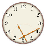 Clock icon Stock Photos