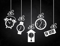 Clock icons Royalty Free Stock Photo