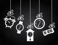 Clock icons Royalty Free Stock Photo