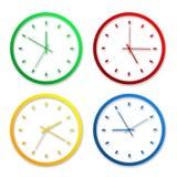 Clock icons Royalty Free Stock Photos