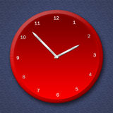 Clock illustration Royalty Free Stock Photo