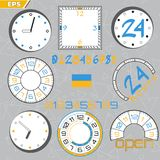 Time limit, deadline, countdown flat design style concept illustration royalty free illustration