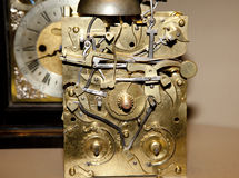Clock inner workings Royalty Free Stock Photos