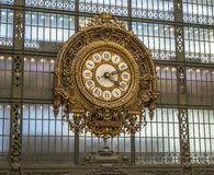 Clock inside Orsay Museum Royalty Free Stock Photos