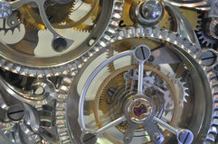 Clock Internal Mechanism Structure Royalty Free Stock Photography