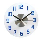 Clock. Isolated Stock Image