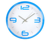 Clock. Isolated Royalty Free Stock Photography