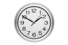 Clock isolated Stock Photos