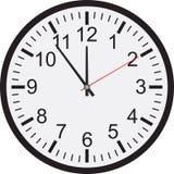 Clock isolated on white background Royalty Free Stock Image