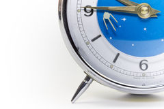 Clock. On isolated white space Royalty Free Stock Photos