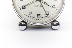 Clock. On isolated white space Stock Photo