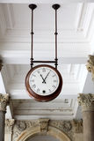Clock, Karlovy Vary Royalty Free Stock Photo