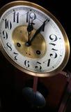 clock klockpendelen Royaltyfri Foto