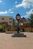 Clock in the Kogan Plaza in Washington University Campus Royalty Free Stock Photography