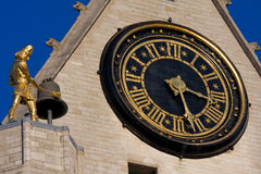 Clock in Leuven Stock Images