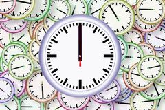 Clock, Line, Font, Circle Stock Photo