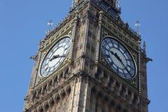 The clock of London Big Ben in UK Stock Photos