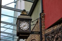 Clock. In London Royalty Free Stock Photo