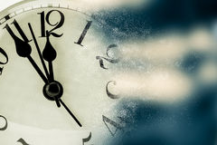 Clock in lost time Royalty Free Stock Photography