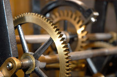 Clock machine Royalty Free Stock Photo