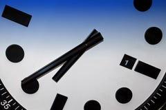 Clock Macro Detailed Stock Photo